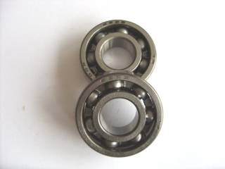 Bearings and storage units