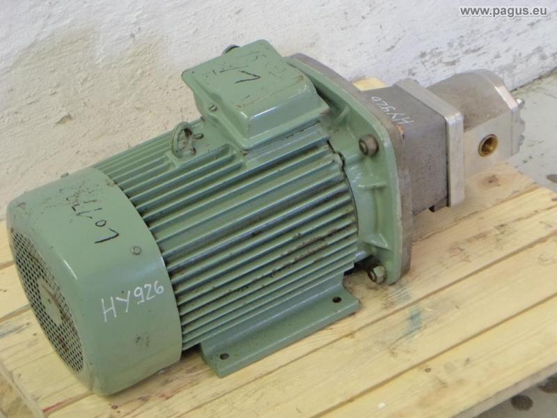 hydraulikpumpe mit motor 20 20 0 210 gebrauchte und neu. Black Bedroom Furniture Sets. Home Design Ideas