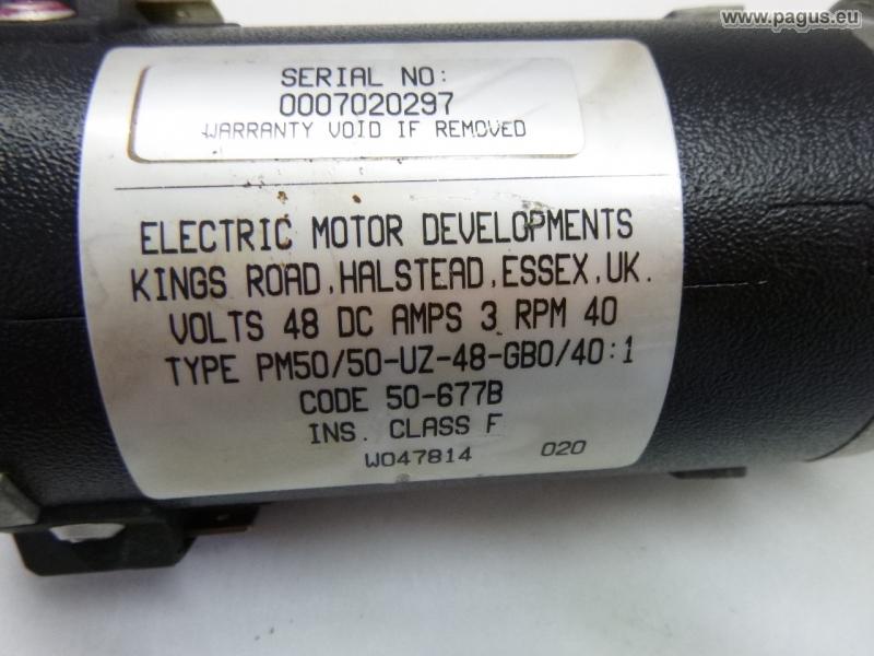 Geared motor 40 rpm - gebrauchte und neu Maschinenhandel - Pagus