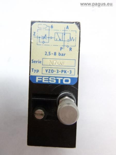 Festo Zeitverzögerungsventil Typ VZO-3-PK-3