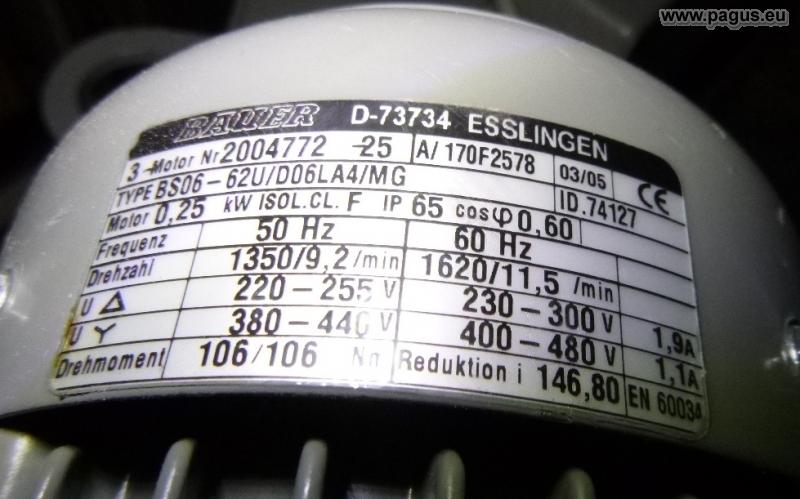 ILS Schlagbohrmaschine 6 Z/ähne Rotor Welle passend f/ür Bosch GBH 2-24 DSR