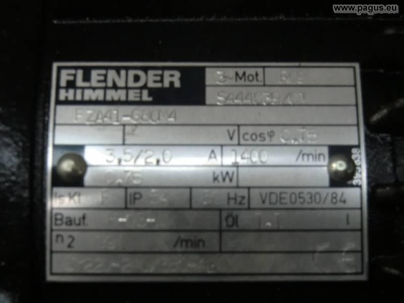 Getriebemotor 0 75 kw 99 u min gebrauchte und neu for Flender himmel motors usa