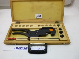 WMW hand pressing tongs