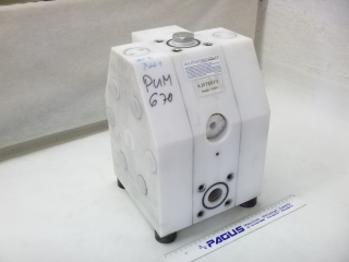 ALMATEC compressed air diaphragm pump