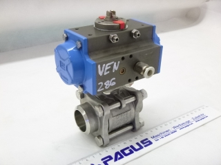 HAITIMA ball valve with pneumatic valve drive