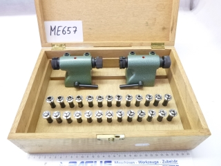 PAGUS tailstock with collet set