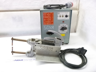 ARO spot welding gun with control unit