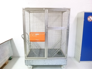 PAGUS Hazardous substance storage with drip tray