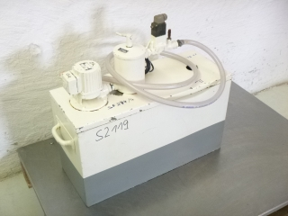 Overbeck coolant tank with pump