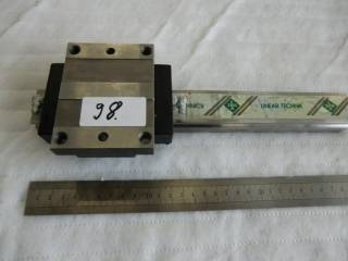 INA linear guide with carriage