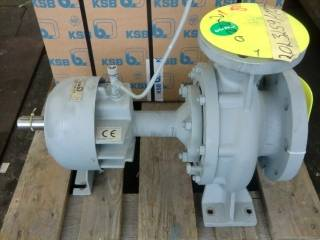 KSB volute casing circulating pump without motor